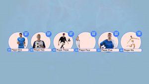 Team Line Up Intro 7