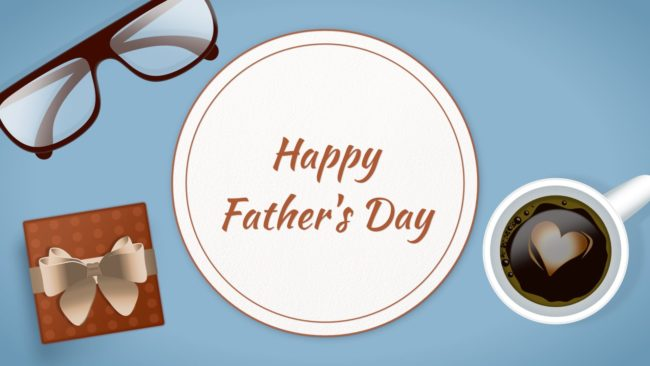 Fathers Day Template for Final Cut Pro
