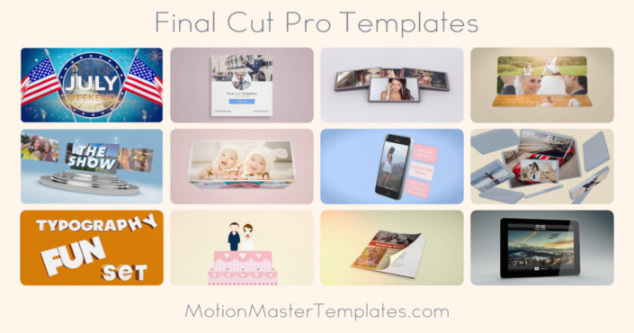 Final Cut Pro & Motion Templates Free and Premium